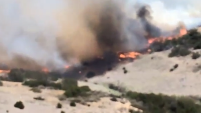 Fire Rages in San Diego County