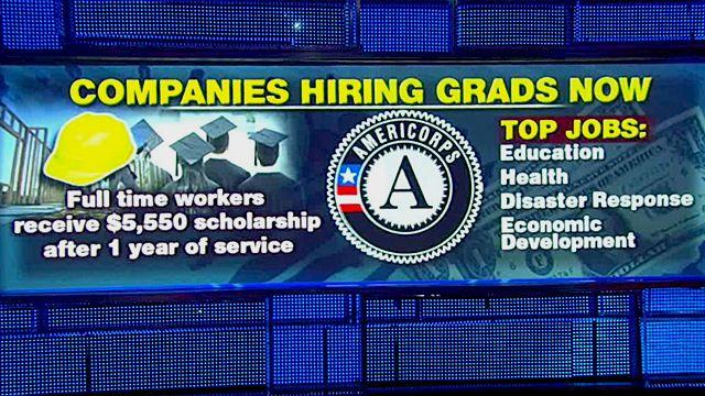 Top 5 companies hiring grads right now