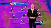 KCCI noon weather forecast