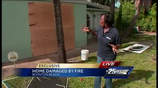 Fire victims thankful everyone got out alive, including 2 kittens
