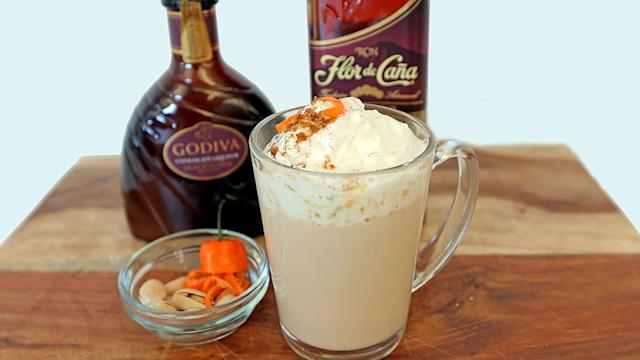 Cozy Up With This Toasty Cocoa Loco Cocktail