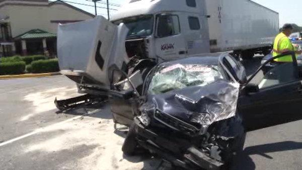 Driver injured in New Castle multi-vehicle accident