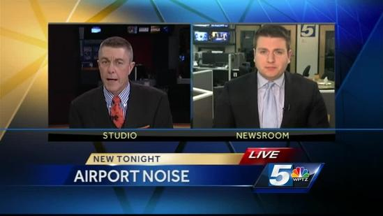 Study: Airport noise linked to health problems