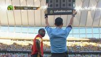 Angola fury at substitution gaffe