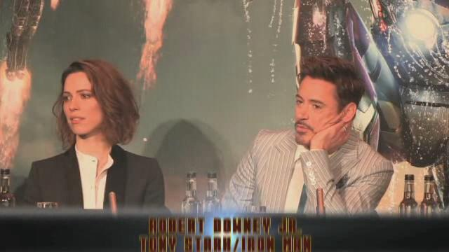 Iron Man 3 - Press Conference Report
