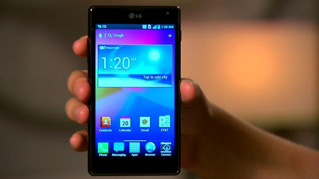 Unboxing the LG Optimus G