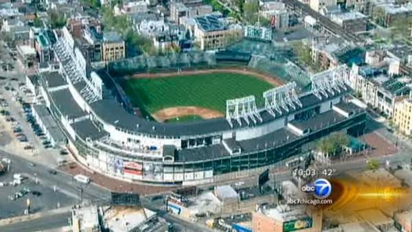 Cubs home opener draws fans to Wrigley Field | Still no deal for renovations to ballpark