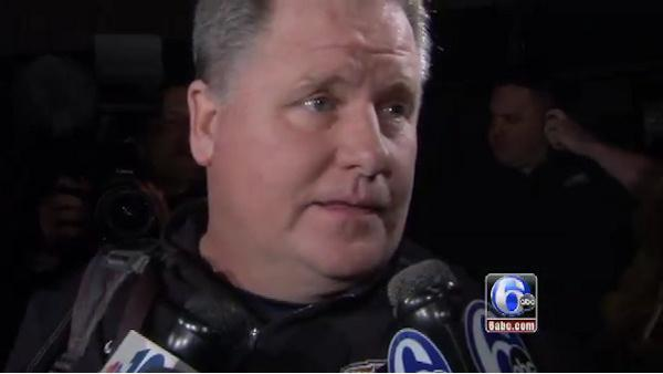 Chip Kelly arrives in Philly, speaks to Action News