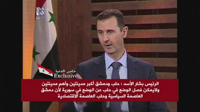 Assad says more time needed to win Syria battle