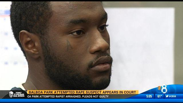 Balboa Park attempted rape suspect appears in court