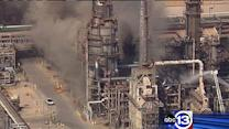 Fire breaks out at BP plant in Texas City