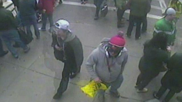 FBI releases images, video of Boston bombing suspects