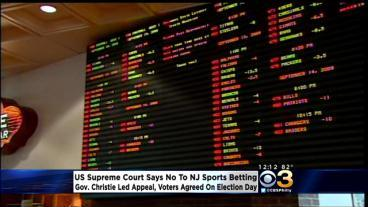 U.S. Supreme Court Rejects NJ's Effort To Host Sports Gambling