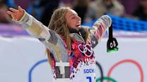 Jamie Anderson completes snowboard slopestyle sweep