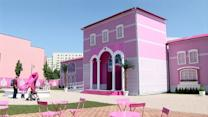 La casa de Barbie, a tamaño real
