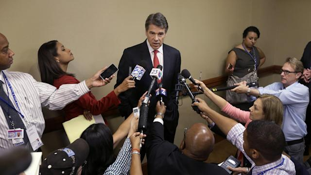 Gov. Perry to Sen. Davis: What if your mom had an abortion?
