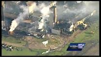 NewsChopper 12 flies above Genesee game farm fire
