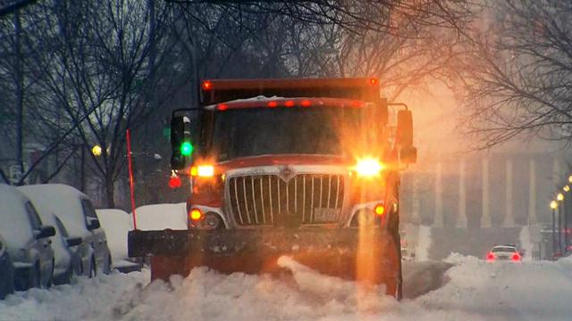 Foot of snow for some areas slammed by latest winter blast
