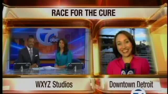 Race for the Cure, 6 am, WXYZ