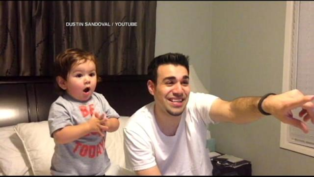 Boy, 1, Falls in Love with March Madness