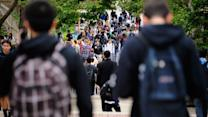 U.S. Private Debt Troubles Ebb, Except Among Students