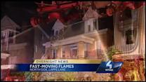 Fast-moving fire damages Spring Hill homes