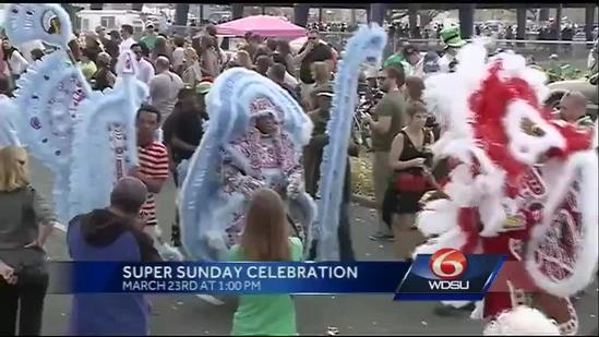 Mardi Gras Indians suit up for St. Joseph's Day