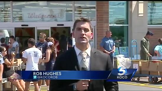 Moore Walgreens reopens to celebration, remembrance