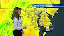 Maryland's Thursday afternoon weather forecast