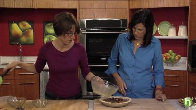 How to make chocolate pecan pie