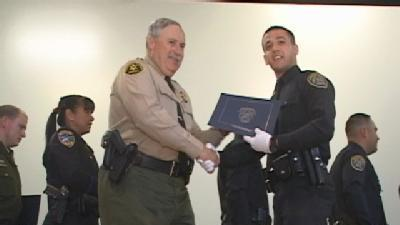 Graduation Day For Local Police Academy Students