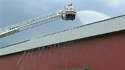 Firefighters Come To Aid Of Chickens