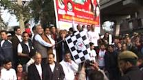 Jammu runs to support 'pride and dignity' of women