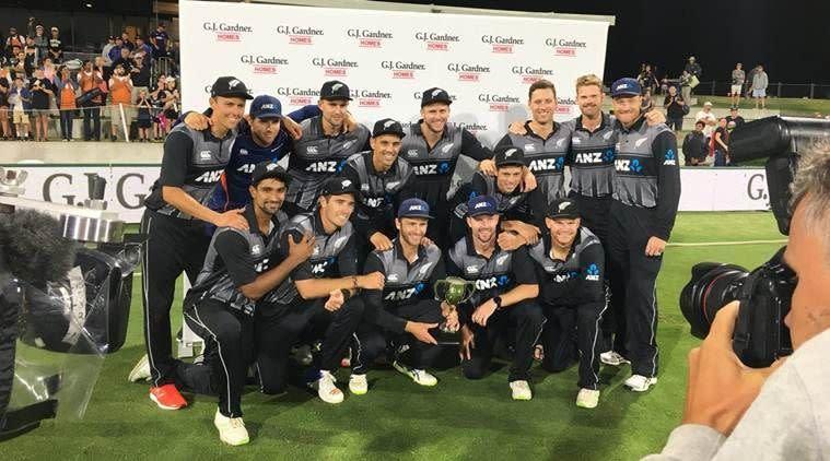 New Zealand have whitewashed Sri Lanka in the ODI series