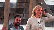 WOWtv - Cameron Diaz Gets Up Close and Personal With Taylor Kinney on Film Set