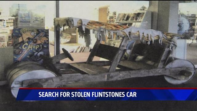 Online Sleuths Closing In On Man`s Stolen Flintstones Car