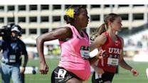 Pregnant Olympian who ran 800 meter race speaks out