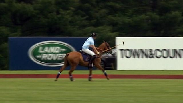 Prince Harry Plays Polo in Connecticut for Charity