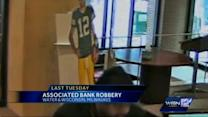 Man wanted in Milwaukee bank robbery strikes again