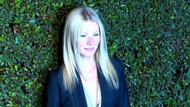 Gwyneth Paltrow Calls Her Sheer Iron Man Dress a 'Disaster'