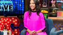 Zoe Saldana's Baby Bump On Display In Nearly See-Through Dress--See Her Cute Pregnancy Style!