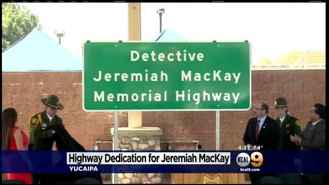 Portion Of Highway 38 Dedicated To Detective Killed In Dorner Shootout