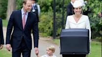 Princess Charlotte Christened in Private Service