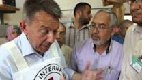 International Red Cross President Tours Gaza