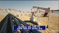 Global oil demand to jump 38% by 2040