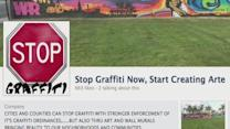 Battling graffiti with social media