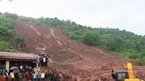 Raw: Deadly Landslide Hits Indian Village