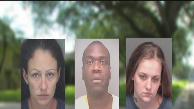 Three charged in brutal beating