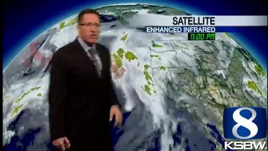 Get Your Thursday KSBW Weather Forecast 4.04.13