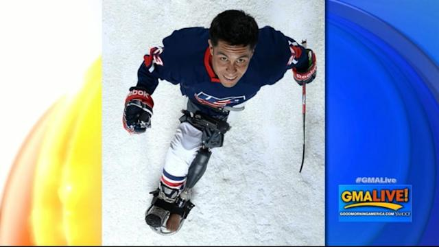 War Wounded Veteran Joins Team USA Sled Hockey Team